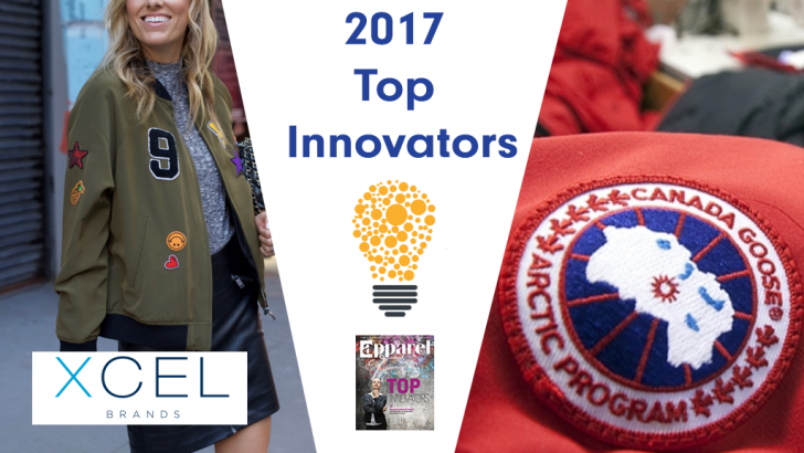 "NGC Customers Canada Goose and Xcel Brands Named Apparel ""Top Innovators"""