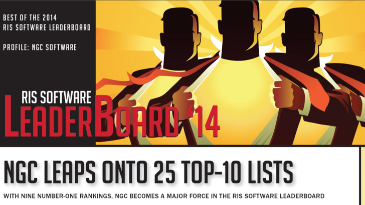 NGC Receives Nine #1 Rankings, 25 Overall Top 10 Rankings In 2014 RIS Software LeaderBoard