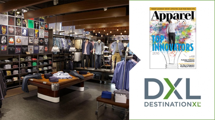 "NGC Customer DXL Named Apparel ""Top Innovator"""