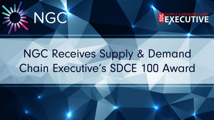 NGC Receives Supply & Demand Chain Executive's SDCE 100 Award