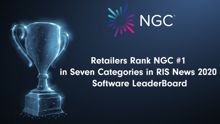 Retailers Rank NGC #1 in Seven Categories Including Technology Innovation, Overall Performance and Software Reliability in RIS News 2020 Software LeaderBoard
